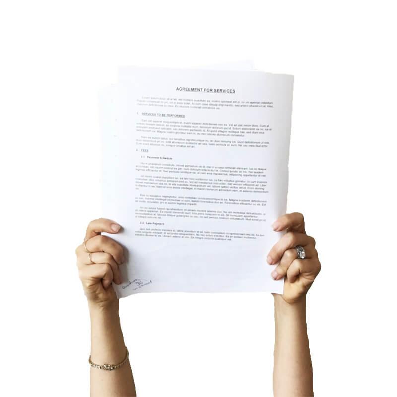 spedizione documenti legali italia estero